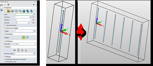 Multiple-Array-Patterns