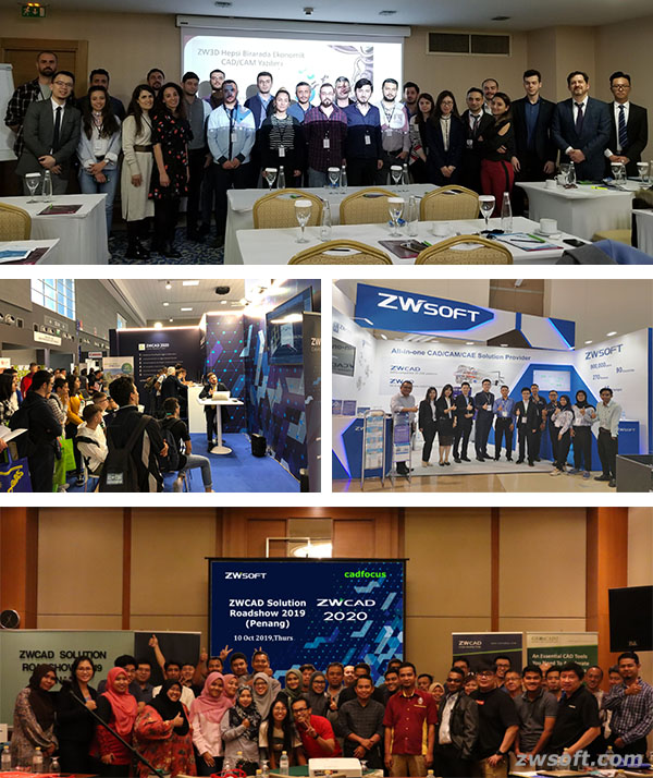 ZWSOFT Global Tour 2019