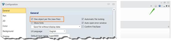 Figura 3. La opción de un objeto por archivo