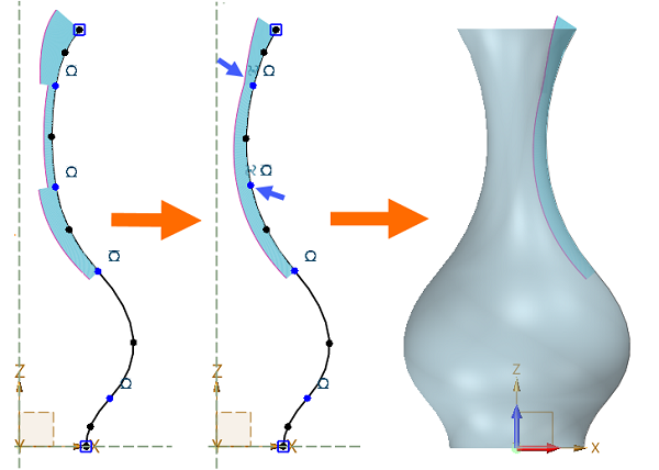 zw3d 2021_Equal Curvature Constraint.png