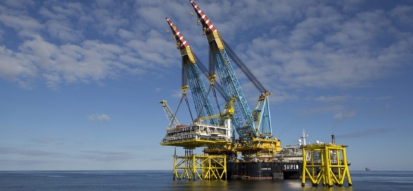 Dragados Offshore was one of the contractors for the Jasmine gas field project in the North Sea