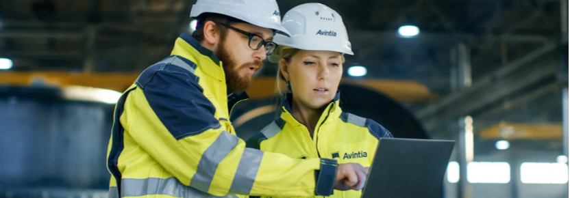 The avintia team working onsite with ZWCAD