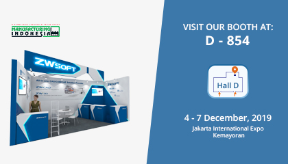 Next Stop in Jakarta: Meet ZWSOFT at Manufacturing Indonesia 2019