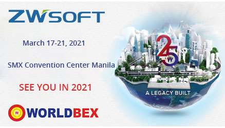 See You in 2021: ZWSOFT's Exhibition in WORLDBEX 2020 was Rescheduled