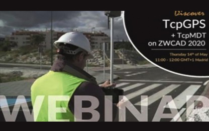 ZWSOFT and Aplitop Will Host a Free Webinar on Topographic Surveys