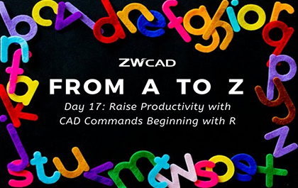 1 MIN 1 CAD: Raise Productivity with CAD Commands Beginning with R