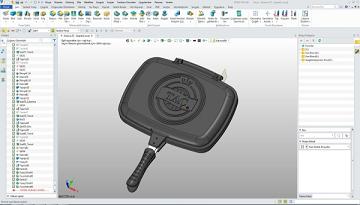 ZW3D: Elegible y práctico para la fabricación de utensilios de cocina de TAÇ®